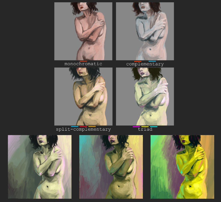 Color Theory Study