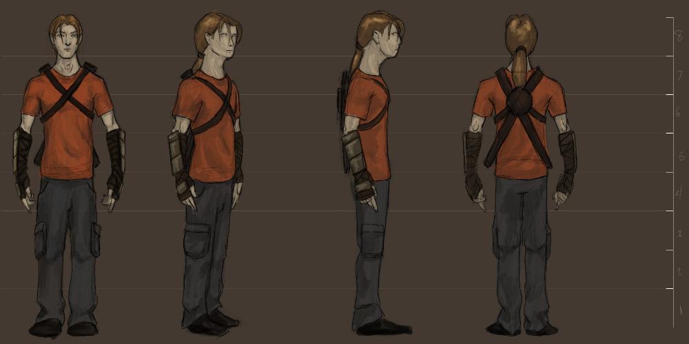 Post Apocalyptic Ranger Concept